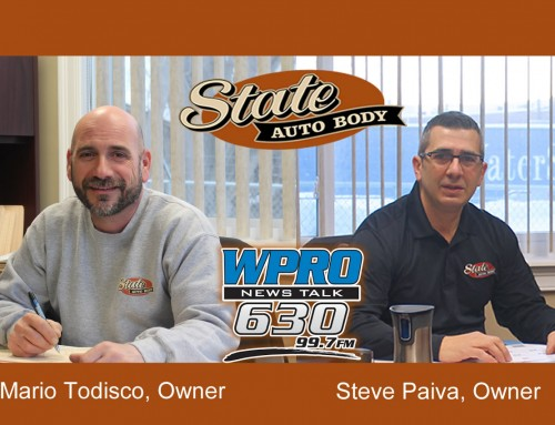 State Autobody Featured on WPRO 630